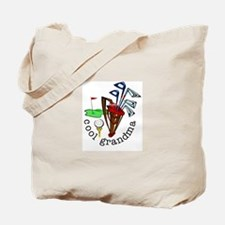 GOLF GRANDMA Tote Bag