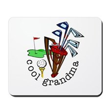 GOLF GRANDMA Mousepad