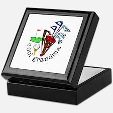 GOLF GRANDMA Keepsake Box