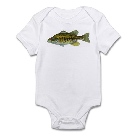 Smallmouth Bass Infant Bodysuit