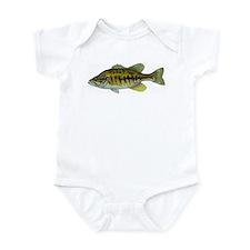 Smallmouth Bass Infant Bodysuit