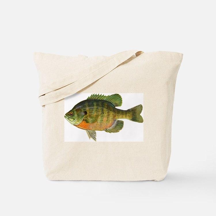 Bluegill Bob Tote Bag