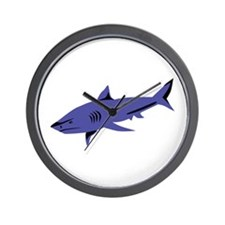 Shark Wall Clock