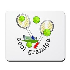 TENNIS GRANDPA Mousepad