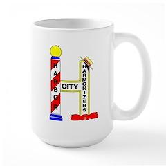 Harbor City Harmonizers Large Mug
