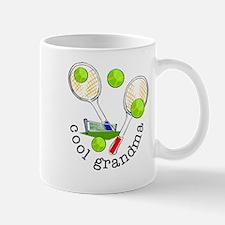TENNIS GRANDMA Small Mugs