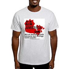 Air America Radio in Canada Ash Grey T-Shirt