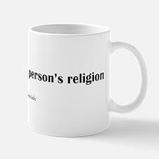 ThinkingPersonMug Mugs