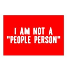 """People Person"" Postcards (Package of 8)"
