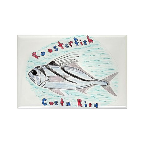 Roosterfish Rectangle Magnet (100 pack)