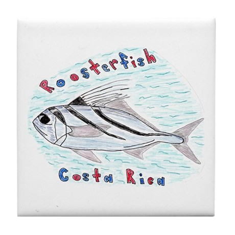 Roosterfish Tile Coaster