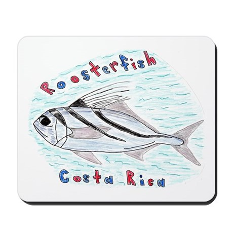 Roosterfish Mousepad