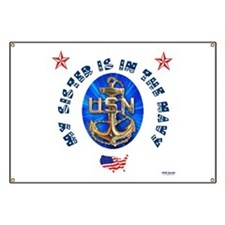 Navy Sister Banner