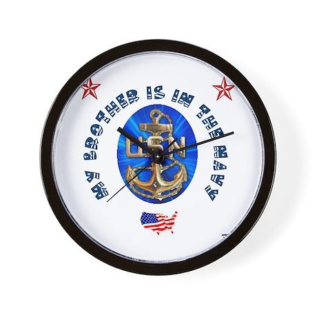 Navy Brother Wall Clock
