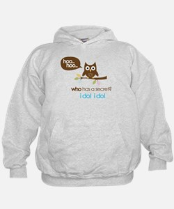big sister to be shirts owl Hoodie