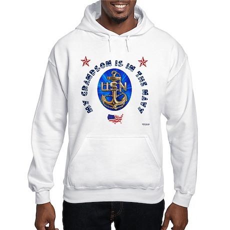 Navy Grandson Hooded Sweatshirt