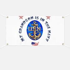 Navy Grandson Banner