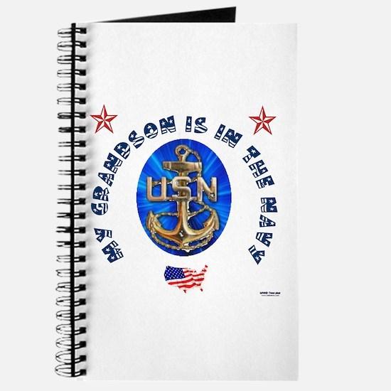 Navy Grandson Journal