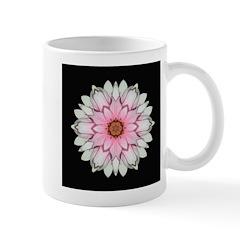 Pink and White Dahlia I Mug