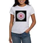 Pink and White Dahlia I Women's T-Shirt