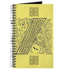Celtic Letter A Journal