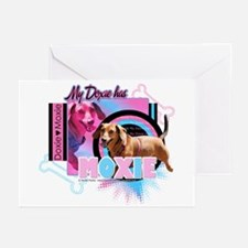My Doxie Has Moxie Greeting Cards (Pk of 10)