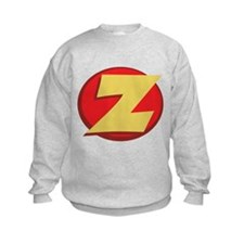 "SuperHero Letter ""Z"" Sweatshirt"