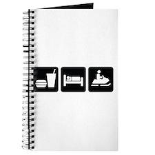Eat Sleep Snowmobile Journal