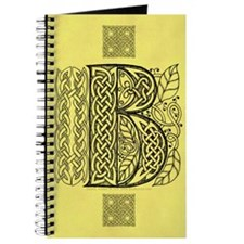 Celtic Letter B Journal