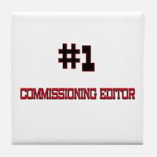 Number 1 COMMISSIONING EDITOR Tile Coaster