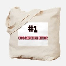 Number 1 COMMISSIONING EDITOR Tote Bag
