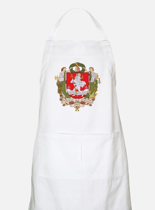 Vilnius Coat Of Arms BBQ Apron