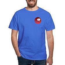 Uh Oh FlatlineTri-v T-Shirt