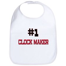 Number 1 CLOCK MAKER Bib