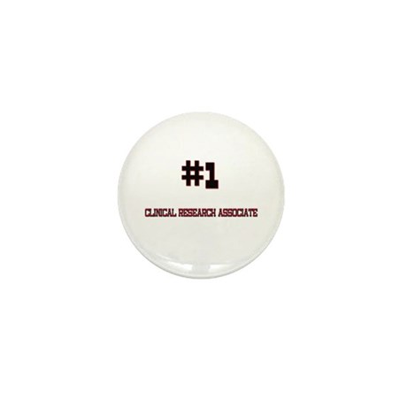 Number 1 clinical research associate mini button by hotjobs for Cra clinical research associate