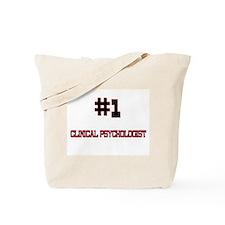Number 1 CLINICAL PSYCHOLOGIST Tote Bag