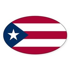Puerto Rico Flag Decal