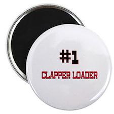 Number 1 CLAPPER LOADER Magnet