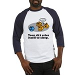 Your d12 Cries... Baseball Jersey