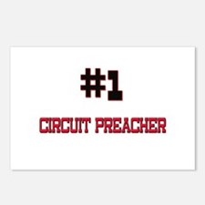 Number 1 CIRCUIT PREACHER Postcards (Package of 8)