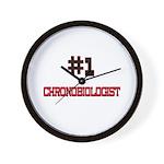Number 1 CHRONOBIOLOGIST Wall Clock