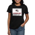Number 1 CHRONOBIOLOGIST Women's Dark T-Shirt