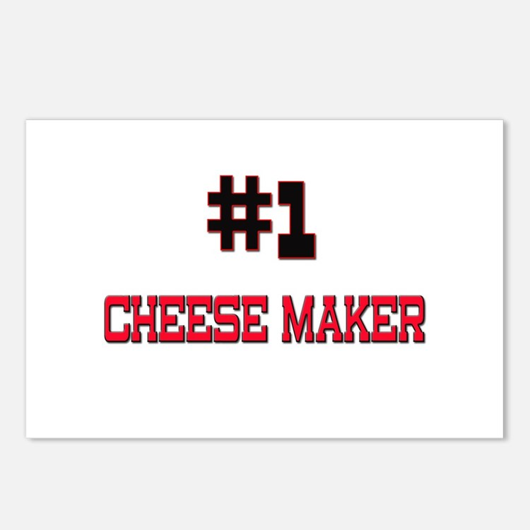 Number 1 CHEESE MAKER Postcards (Package of 8)