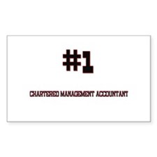 Number 1 CHARTERED MANAGEMENT ACCOUNTANT Decal