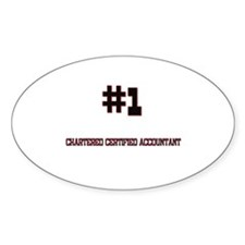 Number 1 CHARTERED CERTIFIED ACCOUNTANT Decal