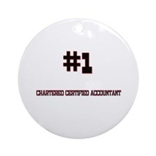Number 1 CHARTERED CERTIFIED ACCOUNTANT Ornament (