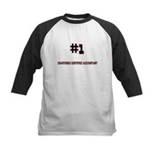 Number 1 CHARTERED CERTIFIED ACCOUNTANT Tee