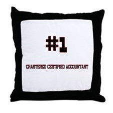 Number 1 CHARTERED CERTIFIED ACCOUNTANT Throw Pill