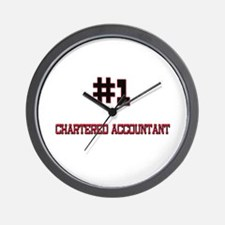 Number 1 CHARTERED ACCOUNTANT Wall Clock