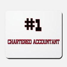 Number 1 CHARTERED ACCOUNTANT Mousepad